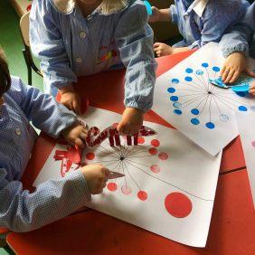 Impariamo insieme l'uso del colore e il valore dell'amicizia