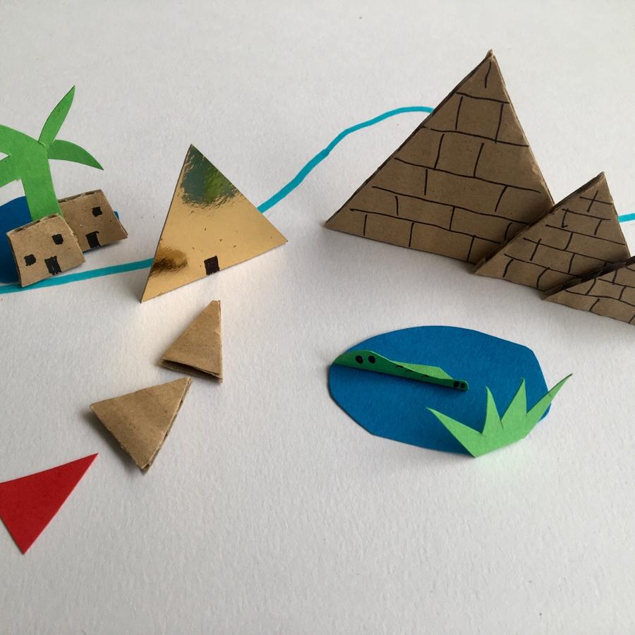10100percorsi: Il gioco delle piramidi